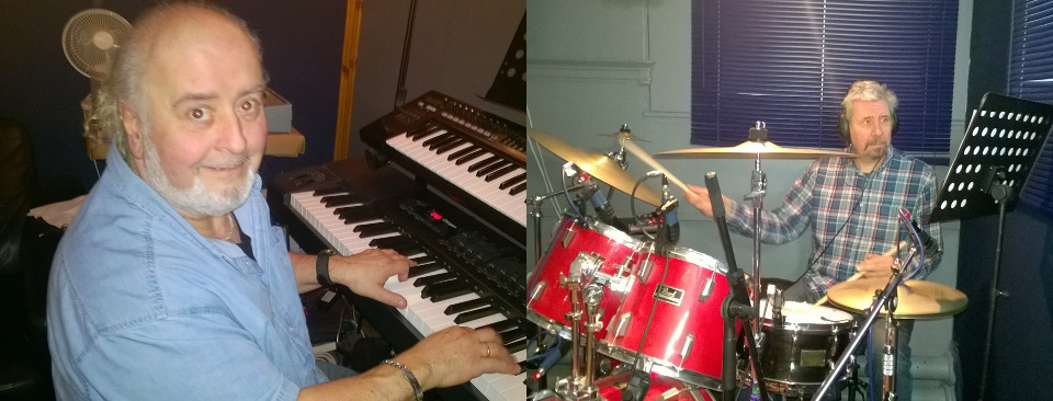 Gino Ciancio (Keyboards) Alastair Morrow (drums)