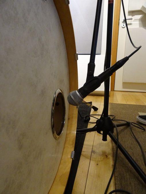 SM58 on Kick Drum