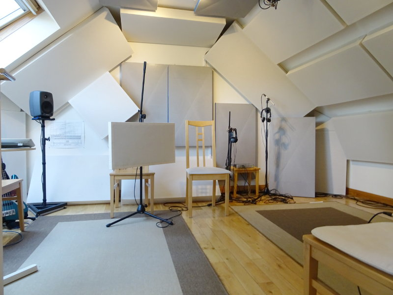 Live Room 1 of Jennifer Clark's studio